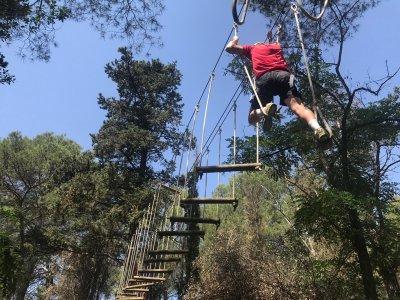 Tirolinas y actividades de aventura Báscara 4h