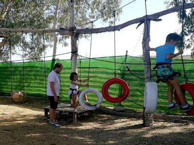 Multiaventura infantil en Mojácar para cumpleaños