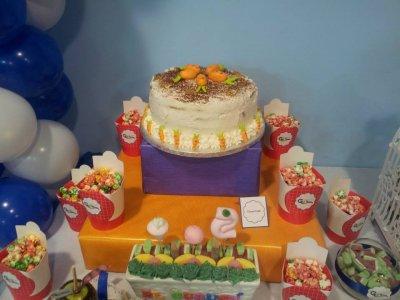 Birthday party in Los Corrales de Buelna