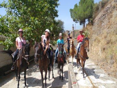 Horseback riding tour in Molins de Rei 1 hour