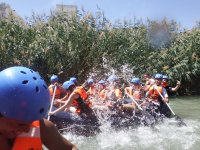 We get wet with e rafting