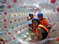 Rafting in a bubble