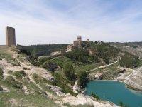 Vista de la Fortaleza de Alarcón