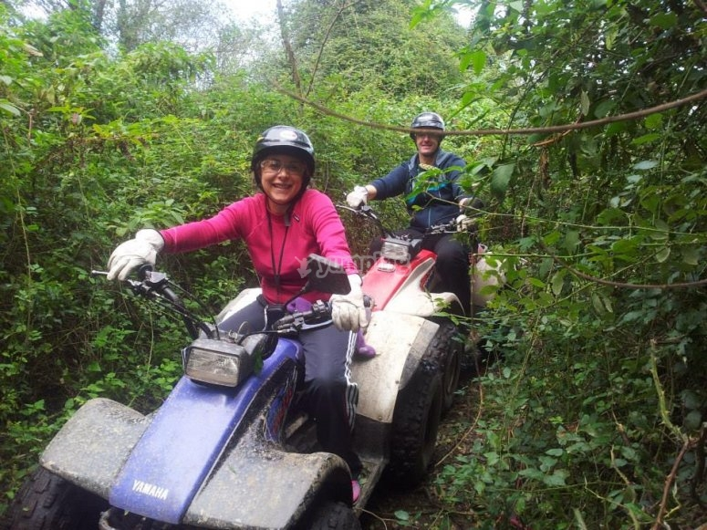 Quad bike route