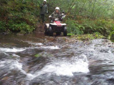Quad Bike (individual) Tour in Padrón - 1h
