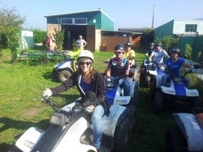 Quad Bike (two-seater) Tour in Padrón - 1 hour