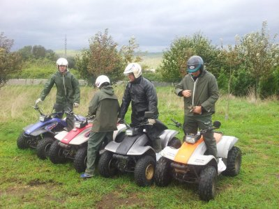 2 Seater Quad Bike Route in Padrón 90 minutes