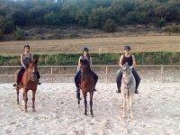 Horse riding through Cildoz