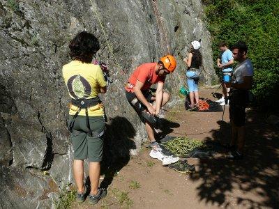 Escalar en roca Huelva 6 horas con pícnic