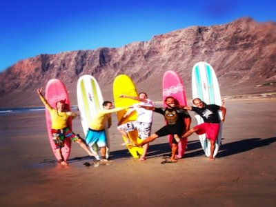 Surf camp at Lanzarote low season, 7nights