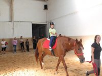 Summer camp with horses for children