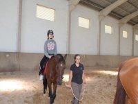 Equestrian camp for children