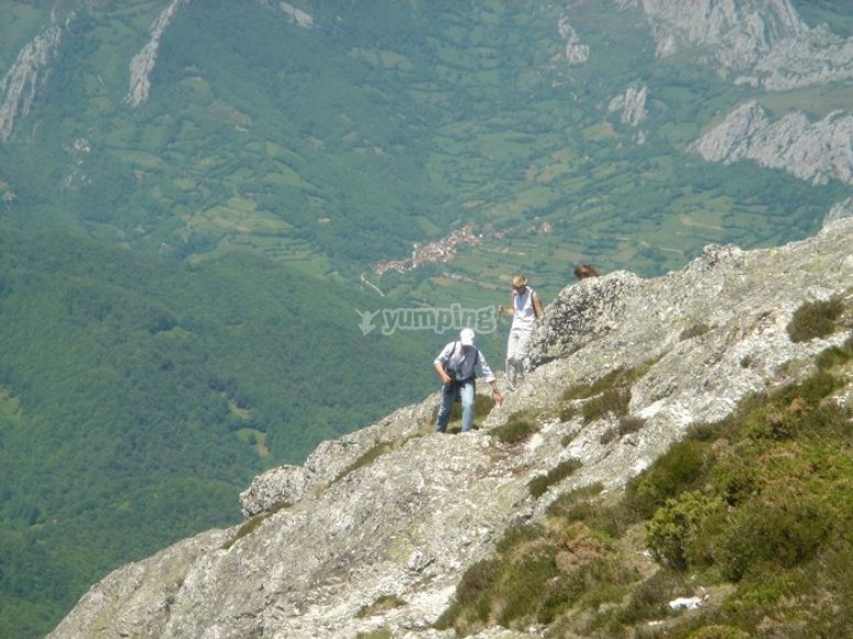 grupo escalando
