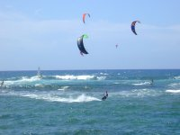 Salida de kitesurf en Tarifa