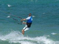 Kitesurfing en Caños de Meca