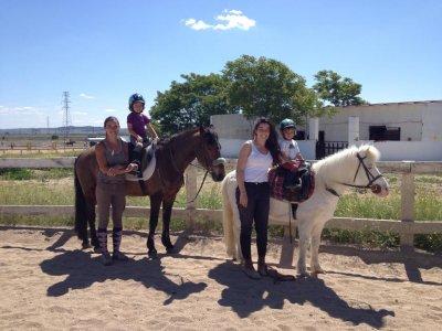 Excursión ecuestre Olmeda Fuentes 2 horas y clase