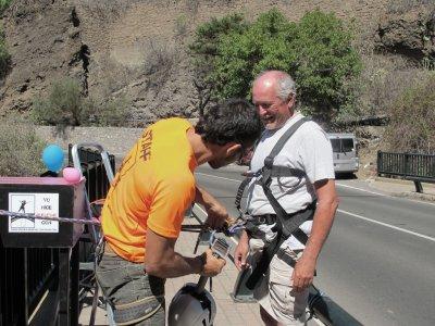 Hacer puenting en Madrid Puente de Taboada