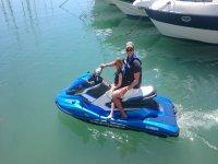 Ruta en moto de agua en familia  a Puerto de la Duquesa