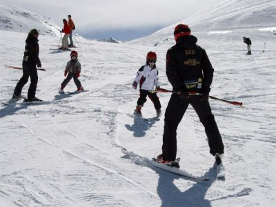 滑雪班内华达山脉明天密集3小时