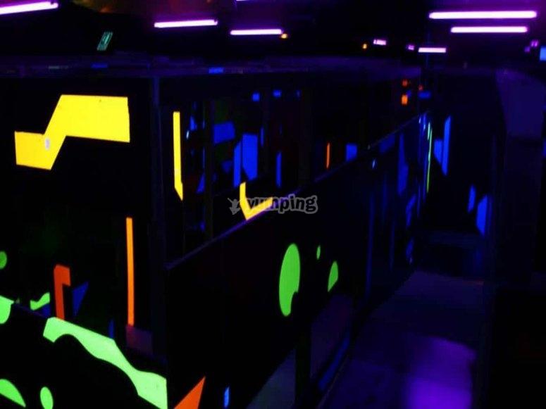 Laberinto LaserTag