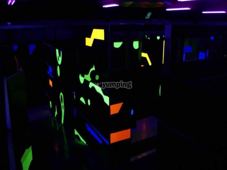 Laberintos lasergame