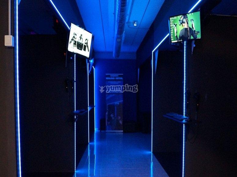 虚拟现实房间