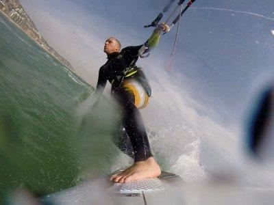 Castelldefels风筝冲浪课程基本导航4h