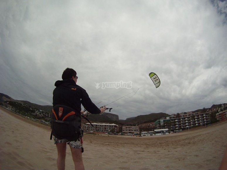 地面Castelldfels风筝上