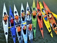 Tour en Kayak con instructor por Sevilla