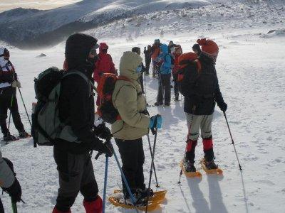 Raquetas de nieve Navarra todos los niveles