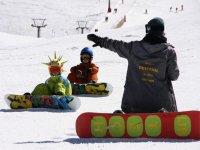 Aprender snowboard en Sierra Nevada 1 hora
