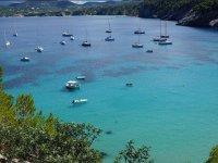 是在Ibiza岛海岸伊维萨