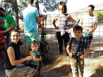 Parque aventura Valle del Jerte 8 a 12 años