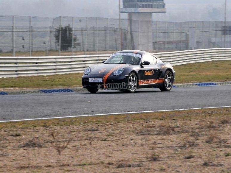 Feel the speed of a Porsche
