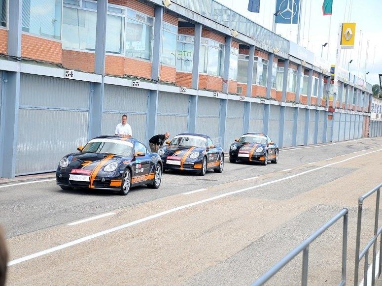 Fleet os Porsches