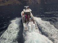 在特内里费岛南海岸钓鱼