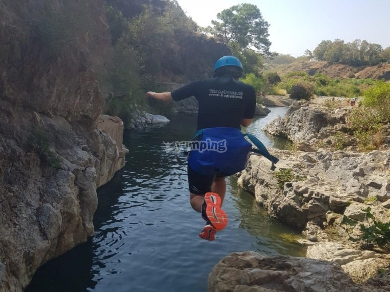 Canyoning acquatico a Marbella