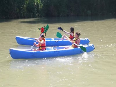 Day of Kayaking and Gymkhana in Aranjuez