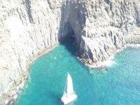 特内里费岛的双体船航线南海岸