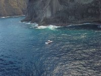 特内里费岛悬崖上的乘船游览