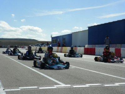 10 minutes karting round in Ocaña