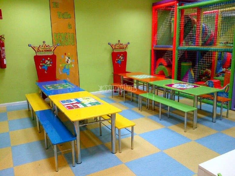 Playroom and canteen