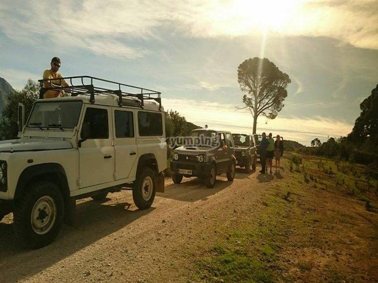 Conosci la parte rurale della Costa del Sol in jeep