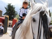 Desde chiquitina a caballo