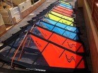 不同颜色的帆--999-高级帆板运动