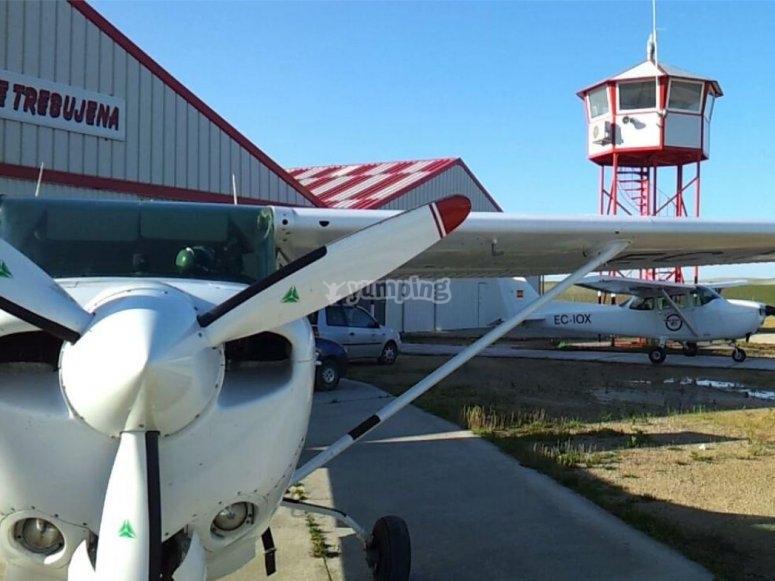 Trebujena airfield