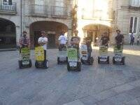 Tourists with the Segway