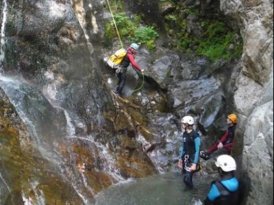Canyoning descent Sierra de Guara