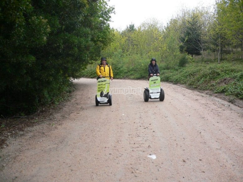 Giro in Segway