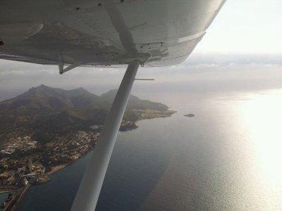 Curso iniciación piloto avioneta Igualada-Ódena 1h
